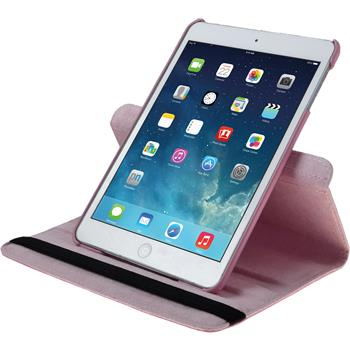 Artificial Leather Case for Apple iPad Mini 3 2 1 360° pink