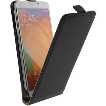 Artificial Leather Case for Samsung Galaxy Note 3 Flipcase black
