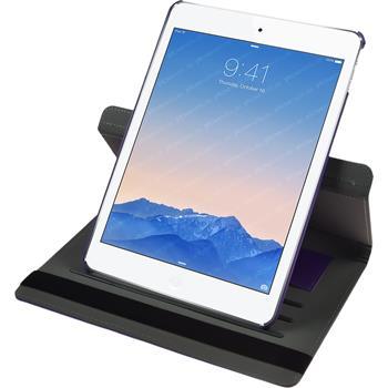 Kunst-Lederhülle iPad Air 2 360° lila