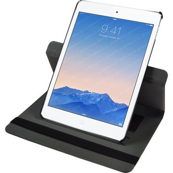 Kunst-Lederhülle iPad Air 2 360° schwarz