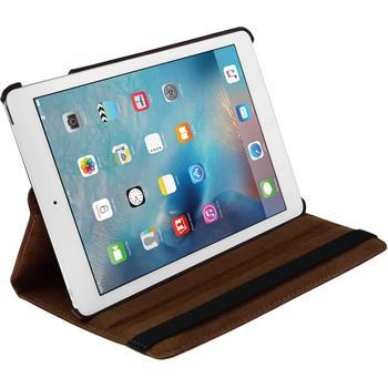 Kunst-Lederhülle iPad Mini 4 360° braun