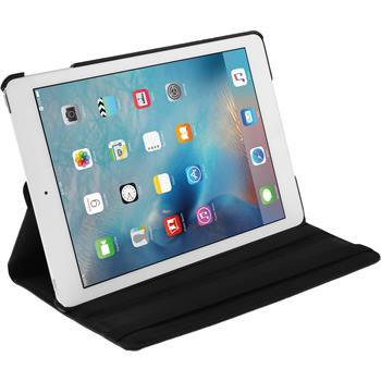 Kunst-Lederhülle iPad Mini 4 360° schwarz