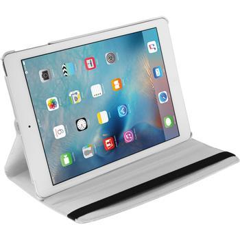 Kunst-Lederhülle iPad Mini 4 360° weiß