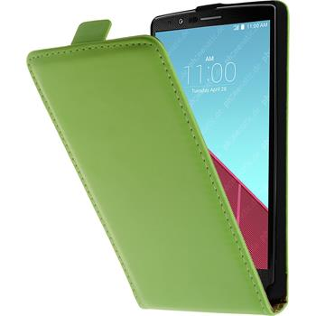 Artificial Leather Case for LG G4 Flipcase green