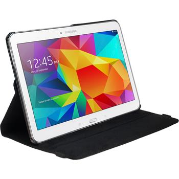 Kunst-Lederhülle Galaxy Tab 4 10.1 360° schwarz