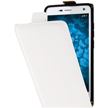 Artificial Leather Case for ZTE Blade L3 Flip-Case white