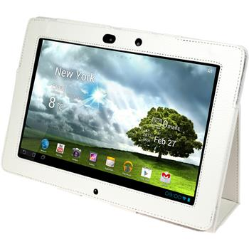 Artificial Leather Case for Asus Transformer Pad Infinity TF700 Wallet white