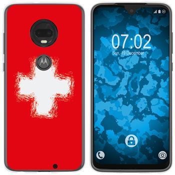 Motorola Moto G7 Silicone Case WM Switzerland M10