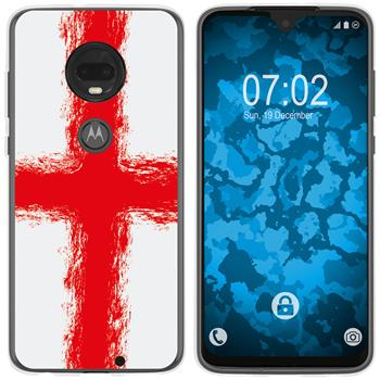 Motorola Moto G7 Plus Silicone Case WM England M4