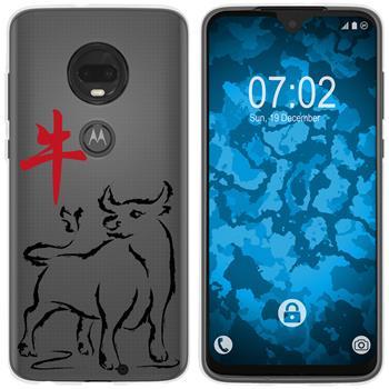 Motorola Moto G7 Silicone Case Chinese Zodiac M2