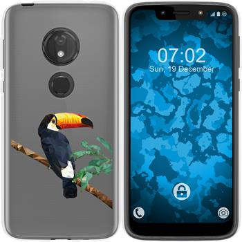 Motorola Moto G7 Play Silicone Case vector animals M5