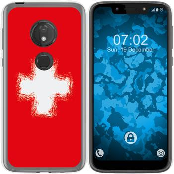 Motorola Moto G7 Play Silicone Case WM Switzerland M10