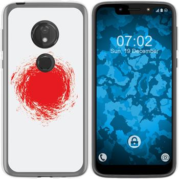 Motorola Moto G7 Play Silicone Case WM Japan M7
