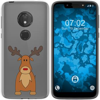 Motorola Moto G7 Play Silicone Case Christmas X Mas M3