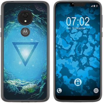 Motorola Moto G7 Power Silicone Case Element water M4