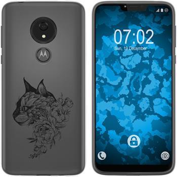 Motorola Moto G7 Power Silicone Case floral M2-1