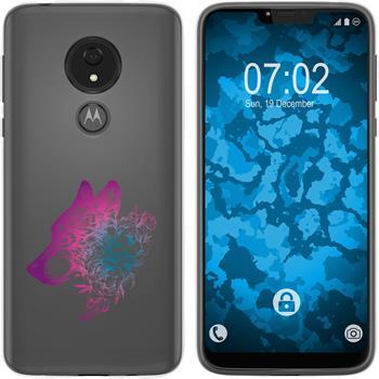 Motorola Moto G7 Power Silicone Case floral M3-6