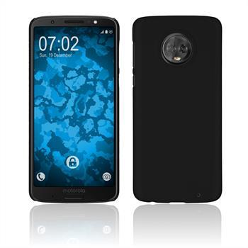 Hardcase Moto G6 Plus rubberized black Case