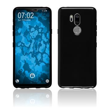 Silikon Hülle G7 ThinQ  schwarz Case