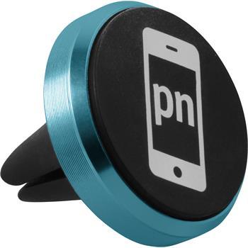 Lüftungsschlitz Handy-Halterung Universal passend für Smartphones in blau