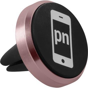 Lüftungsschlitz Handy-Halterung Universal passend für Smartphones in roségold