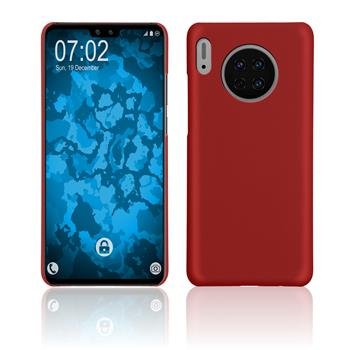 Hardcase Mate 30 rubberized red Cover