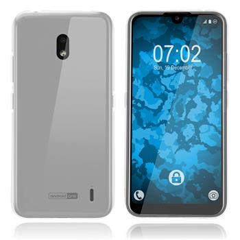 Silicone Case Nokia 2.2 transparent Crystal Clear Cover
