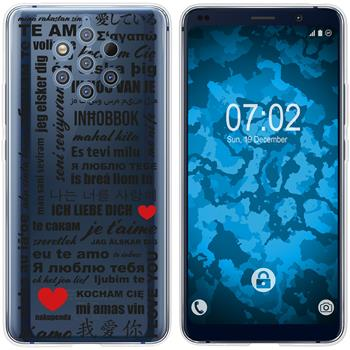 Nokia 9 PureView Silicone Case in Love M4