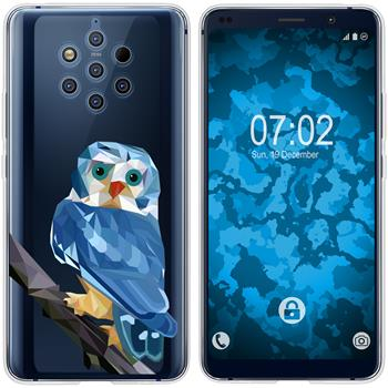 Nokia 9 PureView Silicone Case vector animals M1