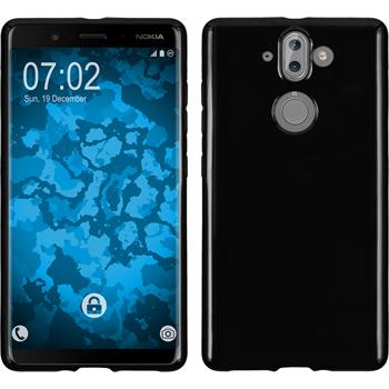 Silicone Case Nokia 9  black Case