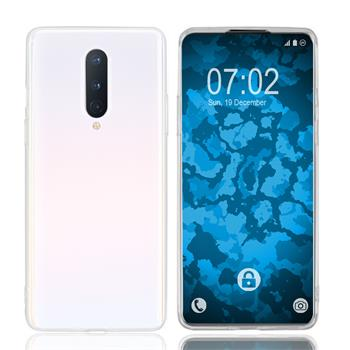 Silicone Case OnePlus 8 transparent Crystal Clear Cover