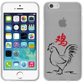 Apple iPhone 6s / 6 Silikon-Hülle Tierkreis Chinesisch Motiv 10