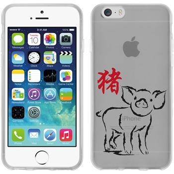 Apple iPhone 6s / 6 Silikon-Hülle Tierkreis Chinesisch Motiv 12