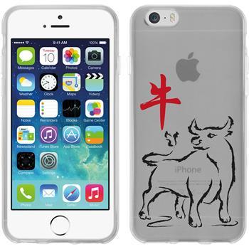 Apple iPhone 6s / 6 Silikon-Hülle Tierkreis Chinesisch Motiv 2