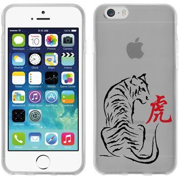 Apple iPhone 6s / 6 Silikon-Hülle Tierkreis Chinesisch Motiv 3