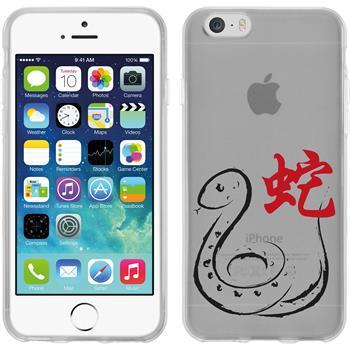 Apple iPhone 6s / 6 Silikon-Hülle Tierkreis Chinesisch Motiv 6