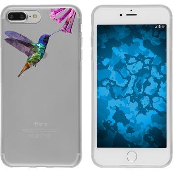 PhoneNatic Apple iPhone 7 Plus Silicone Case vector animals design 3 Case iPhone 7 Plus + protective foils
