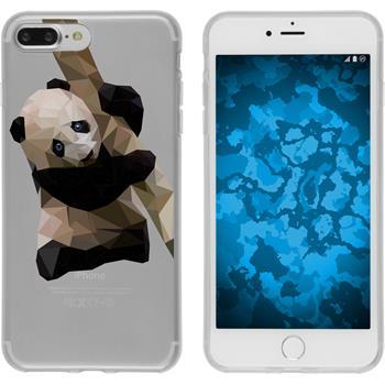 PhoneNatic Apple iPhone 7 Plus Silicone Case vector animals design 4 Case iPhone 7 Plus + protective foils