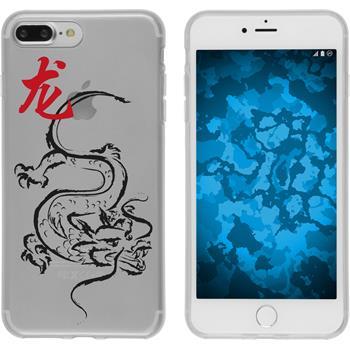 Apple iPhone 7 Plus Silikon-Hülle Tierkreis Chinesisch Motiv 5