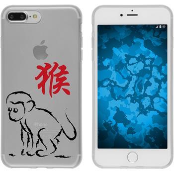 Apple iPhone 7 Plus / 8 Plus Silikon-Hülle Tierkreis Chinesisch  M9
