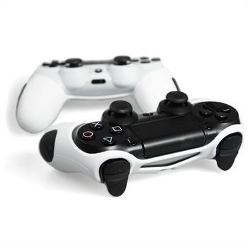 PhoneNatic Controller-Hülle Weiß für das PlayStation 4 Gamepad