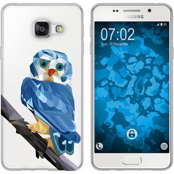 Samsung Galaxy A3 (2016) A310 Silikon-Hülle Vektor Tiere  M1