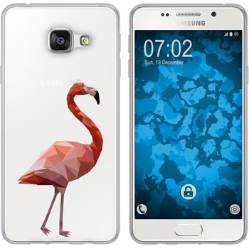 Samsung Galaxy A3 (2016) A310 Silikon-Hülle Vektor Tiere Motiv 2