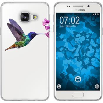 Samsung Galaxy A3 (2016) A310 Silikon-Hülle Vektor Tiere Motiv 3