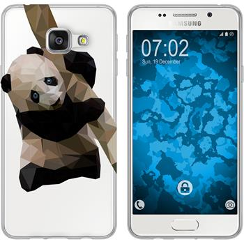 Samsung Galaxy A3 (2016) A310 Silikon-Hülle Vektor Tiere Motiv 4