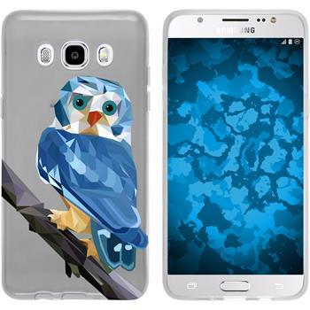 Samsung Galaxy J5 (2016) J510 Silikon-Hülle Vektor Tiere Motiv 1