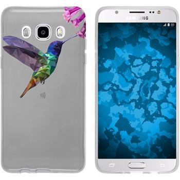 Samsung Galaxy J5 (2016) J510 Silikon-Hülle Vektor Tiere Motiv 3