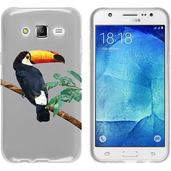 Samsung Galaxy J5 (J500) Silikon-Hülle Vektor Tiere Motiv 5