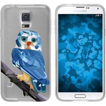 PhoneNatic Samsung Galaxy S5 Neo Silicone Case vector animals design 1 Case Galaxy S5 Neo + protective foils