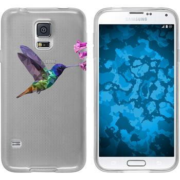 PhoneNatic Samsung Galaxy S5 Neo Silicone Case vector animals design 3 Case Galaxy S5 Neo + protective foils